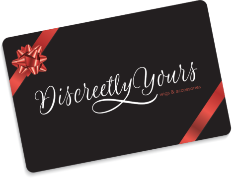 discreetly yours wigs & accessories gift card